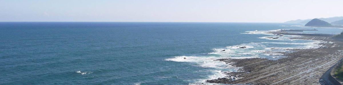 日南海岸と鬼の洗濯板